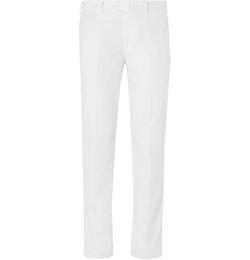 Loro Piana - Slim-Fit Cotton-Blend Chino Pants