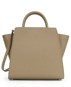 ZAC Zac Posen  - Eartha Saffiano Leather Upright Tote Bag