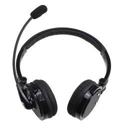 Image - Microphone Stereo Bluetooth Headset Wireless Handsfree Headphone