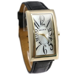Alexis - Band Rectangular Fashion Watch