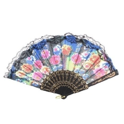 Waterwood - Flower Printed Hand Fan
