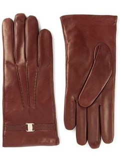 Salvatore Ferragamo  - Leather Gloves