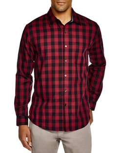 Sovereign Code  - Hamstead Check Regular Fit Button Down Shirt