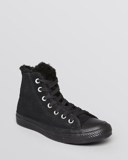 Converse  - Lace Up High Top Sneakers