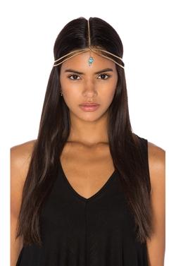 Grace Bijoux - Neela Gold Headpiece
