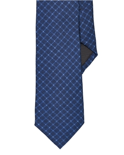 Ralph Lauren - Checked Wool-Silk Narrow Tie
