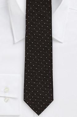Boss Hugo Boss - Italian Silk Pin Dot Tie