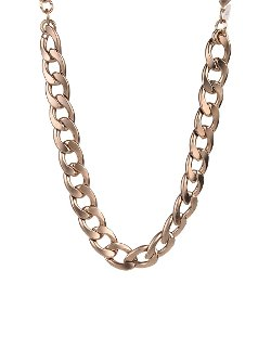Zenzii  - Coated Chain Choker Necklace