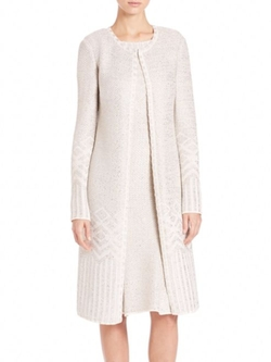 St. John  - Adara Long Knit Cardigan
