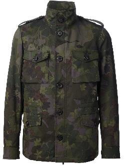 Etro - Camouflage Military Jacket