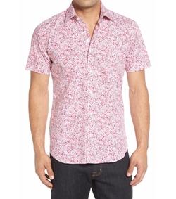 Bertigo  - Floral Print Short Sleeve Sport Shirt