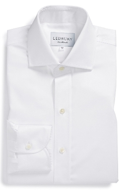 Ledbury - Slim Fit Fine Twill Dress Shirt