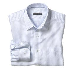 Johnston & Murphy - Tailored Fit Fine Stripe Shirt