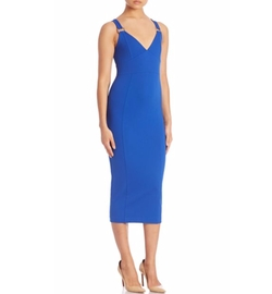Michael Michael Kors  - Solid V-Neck Dress