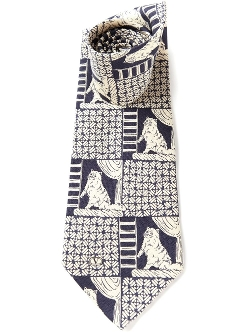 Valentino Vintage  - Cat Print Tie