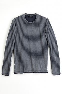 Velvet - Salinger Double Layer Jersey Stripe Top