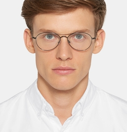 Tom Ford - Aviator-Style Metal Optical Glasses
