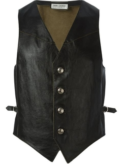 Saint Laurent - Distressed Waistcoat