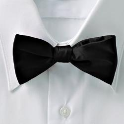 Croft & Barrow - Solid Self-Tie Bow Tie