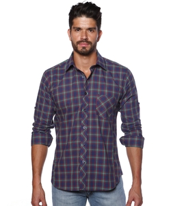 Jared Lang - Woven Button Down Shirt