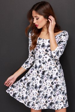 Lulu*s - Floral Print Dress