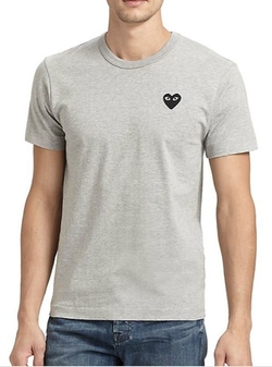 Comme des Garcons Play  - Basic Cotton Tee