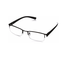 Revolutionary Readers By Greg Norman - Rectangular Semi Rimless Glasses
