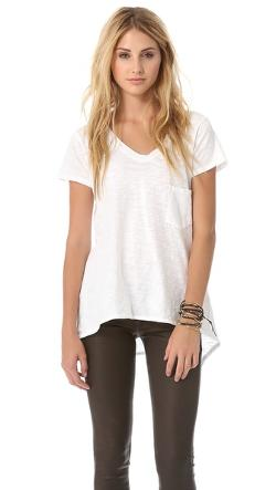 Wilt - Vintage Slouchy V Neck Tee
