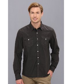 Arnold Zimberg  - Double Pocket Long Sleeve Button Down Shirt