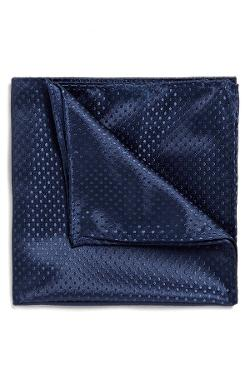 Topman  - Dobby Dot Pocket Square