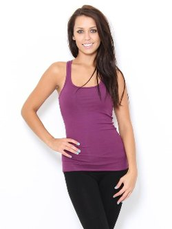 Styles For Less - Racerback Rib Tank