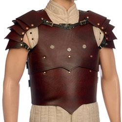 Timeless Tailors - Overlord Leather Cuirass- Breast And Backplate