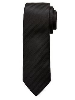 Banana Republic - Drake Monochrome-Stripe Silk Tie