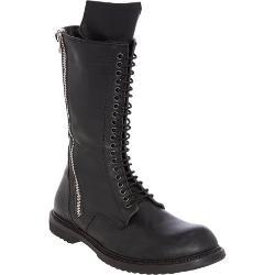 Rick Owens  - Double-zip Combat Boots
