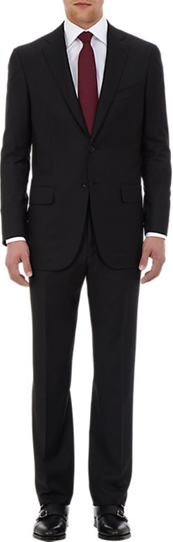 Isaia - Sirio Aquaspider Two-Button Suit