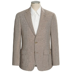 Patrick James - Silk-Wool Herringbone Sport Coat
