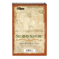 Tops - Second Nature Spiral Reporter/steno Notebook