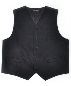 Boxed Gifts - Poly Twill Tuxedo Vest Full Back Vest