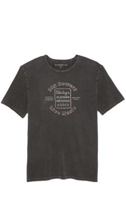 John Varvatos Star USA  - 315 Bowery Graphic Tee