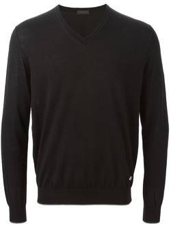 Z Zegna  -  V-Neck Sweater