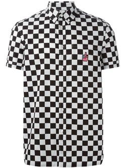 Love MOschino - Check Button Down Shirt