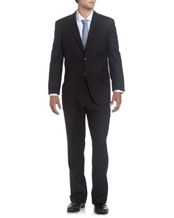 Neiman Marcus  - Shadow-Stripe Modern Fit Suit