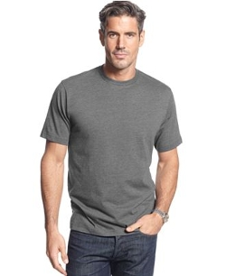 John Ashford - Short-Sleeve Crew Neck Solid T-Shirt