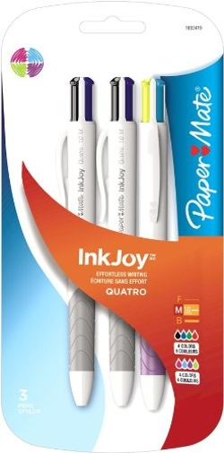 Paper Mate - Retractable Medium Point Advanced Ink Pen