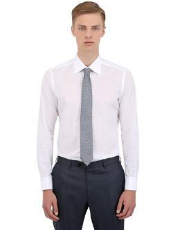 Brioni  - Cotton Poplin Shirt