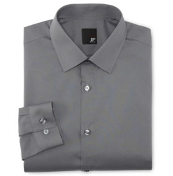 JF J. Ferrar - Easy-Care Dress Shirt
