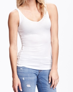 Old-Navy - Fitted 2-Way Layering Tank Top