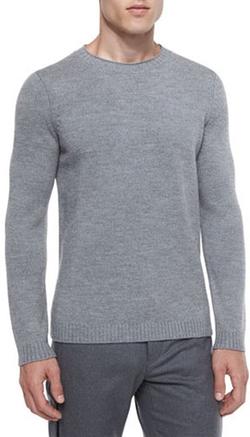 Theory - Vernon Crewneck Wool Sweater