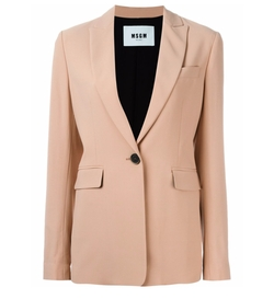 MSGM - One Button Blazer
