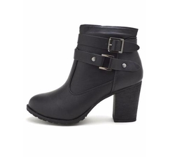 Dollhouse - Belted Chunky Bootie